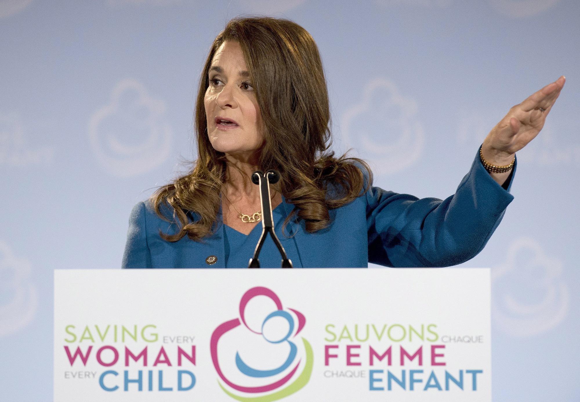 Melinda Gates. Foto: AP TT Nyhetsbyrån.