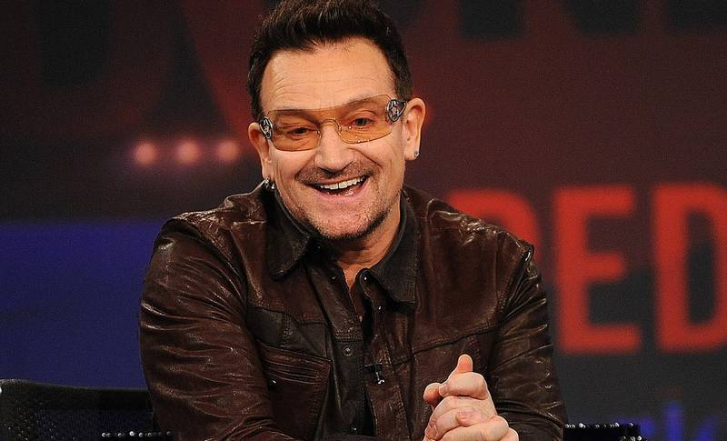 Paul David Hewson, mer känd som Bono, från Dublin.